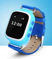 Детские умные часы телефон, gps слежение, Smart baby watch Q60 gps