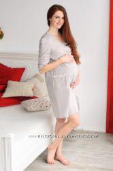 Халаты для беременных и кормящих ТМ Mamma Lux