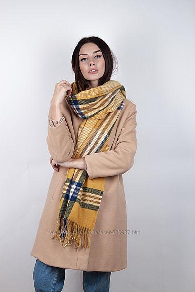 Стильные шарфы палантины, расцветки