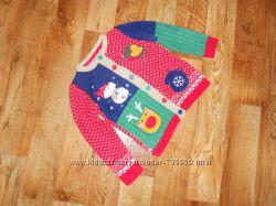 Теплая кофта TU для девочки 3-4 лет