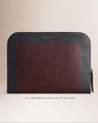 Кейс для документов Burberry London leather document holder, оригинал