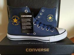 Кеды Converse унисекс кожаные Ctas 7 мужской 9 женский