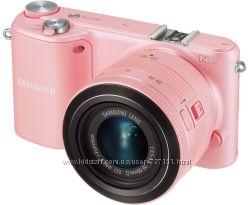 Цифровой фотоаппарат Samsung NX2000 20-50mm Kit Pink Wi-Fi