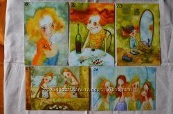 Почтовые открытки для посткроссинга В. Кирдий
