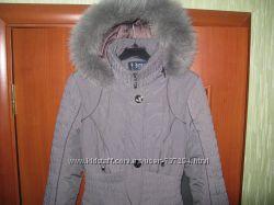 Красивая, теплая зимняя куртка, пальто