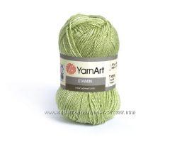 Пряжа YarnArt цвета хаки