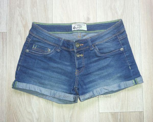 Летние короткие джинсовые шорты Размер S-M
