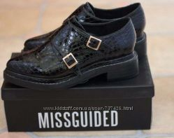 Новые туфли броги. Кожа, размер 37