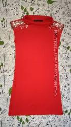 Платье красное Zara
