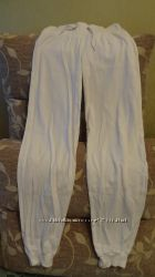 штаны спортивные белые