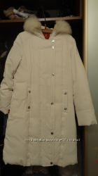 Женское пальто пух