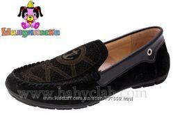 Идеальные туфельки для школы Шалунишка. Натур. замш. Р. 33-36