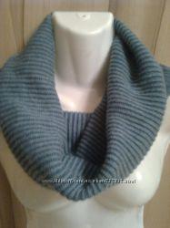 шарф хомут из кашемира