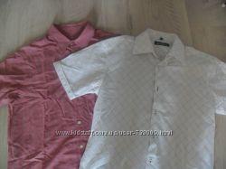 2 Мужские рубашки с коротким рукавом