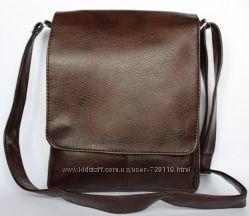 Мужская стильная вместительная сумка под А4. РАЗМЕРЫ