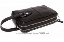 Клатч - сумка КОЖА на руку и на плече