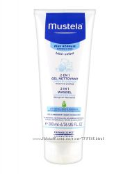 Очищающий гель для головы и тела 2 в 1 Mustela