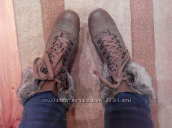 Фирменные демисезонные женские ботинки F&F 39 р