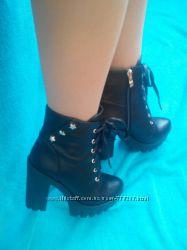 женские демисезонные ботинки, ботильйоны