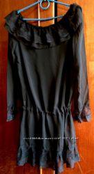 Шифоновая туника , платье шифон на С-М