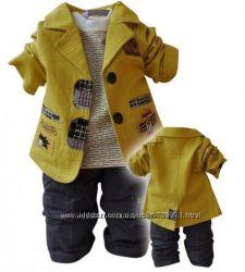 Нарядный костюм тройка для мальчика на 3года