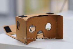 Новые очки виртуальной реальности Google CardBoard.