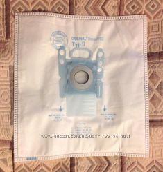 Сменные мешки, пылесборники для пылесоса Bosch, Siemens. Тип G.