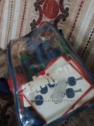 Chicco конструктор і інструменти з дрелькою в рюкзаку