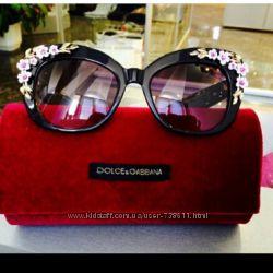 очки Dolche&Gabbana, с аппликацией из лепных цветов миндаля