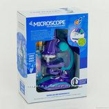 Микроскоп детский на батарейках
