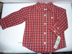 Рубашка для мальчика  18 месяцев, фирма Greendog, доставлена из США