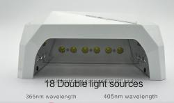 Лампа для ногтей 36 ватт SUN 6 нового поколения с сенсорным управлением.