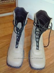 Кожаные ботинки на девушку 41р27см