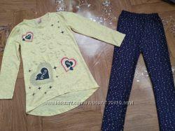 Комплект, костюм на девочку 116-122см