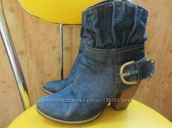 Стильные ботиночки казачки Brocoli 40 разм