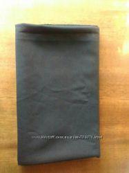 Ткань костюмная  синтетическая чёрная