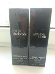 Мужская туалетная вода Armani Black Code Giorgio Armani  В наличии