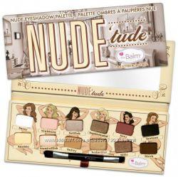 Оригинал Палетка theBalm Nude Tude Naughty Palette.