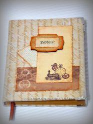 Подарки для мужчин - блокноты ручной работы