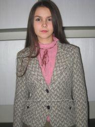 пиджак теплый  шерсть