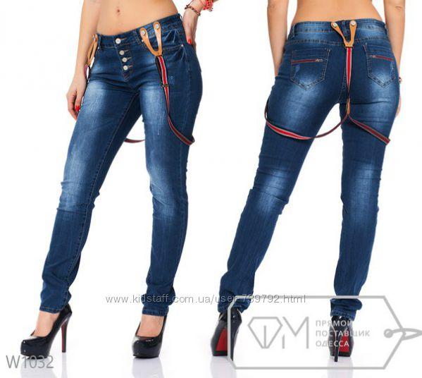 Подтяжки джинсы женские