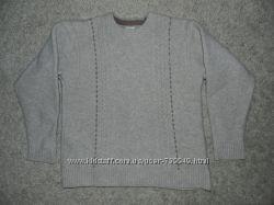 Мужской свитер из шерсти ламы. Размер 46-48