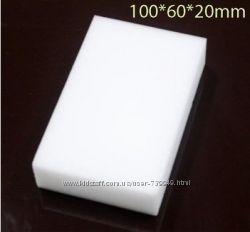 Меламиновые губки. от 2. 25грн. Толщина 2 см. Белые