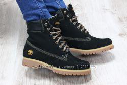 Стильные теплые женские ботинки Timberland. ЗИМА. В наличии