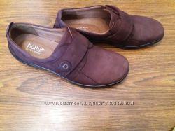 Кожаные оуфли Hotter 27 см. UK 7 12