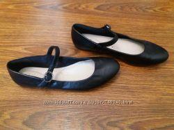кожаные балетки Clark&acutes 4р. 24. 5 см.
