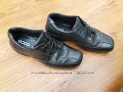 кожаные туфли Ecco 37 р. 24. 5 см