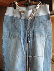 Джинсы для беременных, бедра 90-100, рост до 160 см