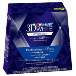 Crest 3D White Whitestrips LUXE Professional Effects, США 10 стикеров