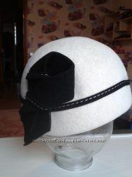 Элегантная шляпка из фетра Helen line